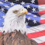 """God Bless America,"" (profesisonal) Carol Rondinelli, Aberdeen Village"