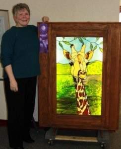 Linda Freeman with Gerald