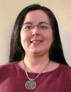 Julie Rousch, art therapist at Kansas City Presbyterian Manor.