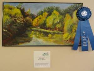 Dr. Gene Marsh's winning artwork from last year's AIA exhibit.