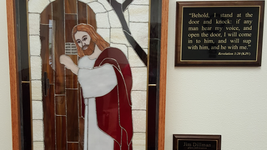 Jesus Stain Glass