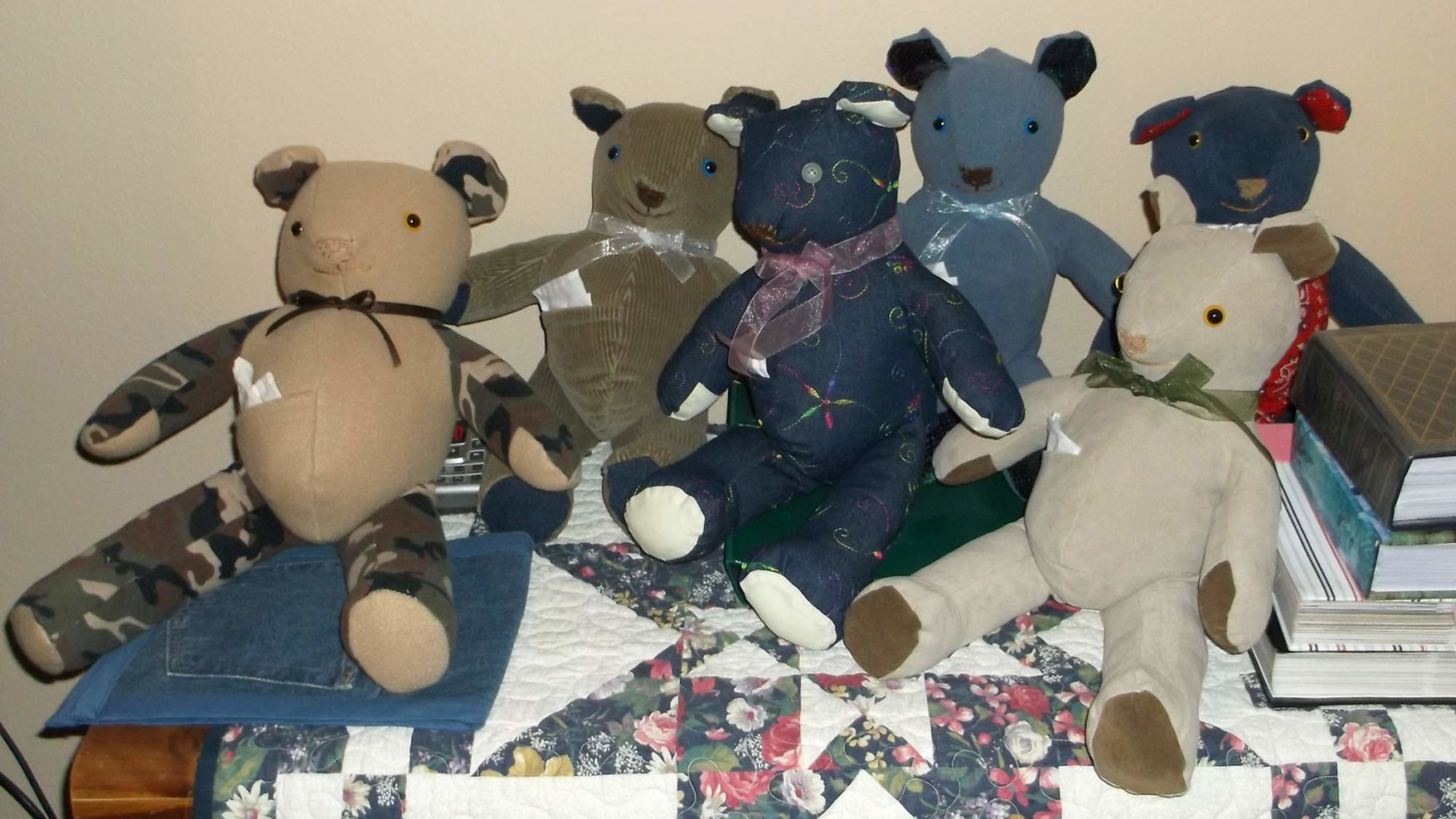 Resident Eleanor Ralls makes handmade teddy bears to children near and far.