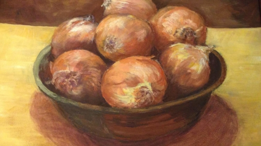 Onions, by Jewell Willhite