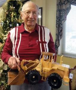 Toymaker Verne Goering