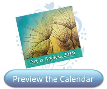Preview the 2019 Art is Ageless Calendar