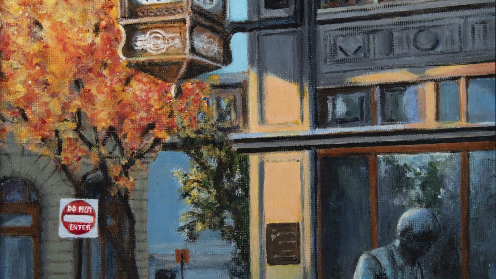 """6:30 Wichita"" by Nancy Luttrell, Wichita Presbyterian Manor"