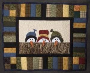 "Amateur Christmas – Leta Sherwood, ""Three Snow Friends"""
