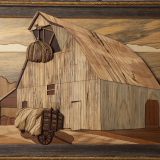 """The Hay Barn"" by Stan Lauer, Salina Presbyterian Manor"