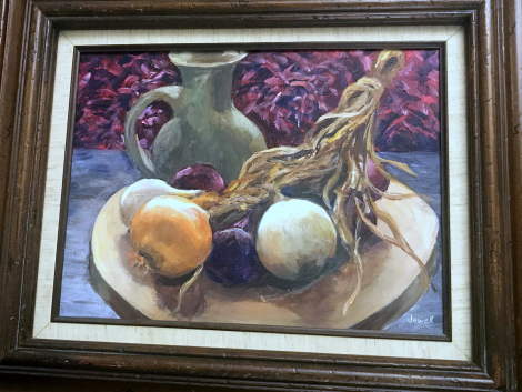"""""""Onions II"""" by Jewell Willhite"""