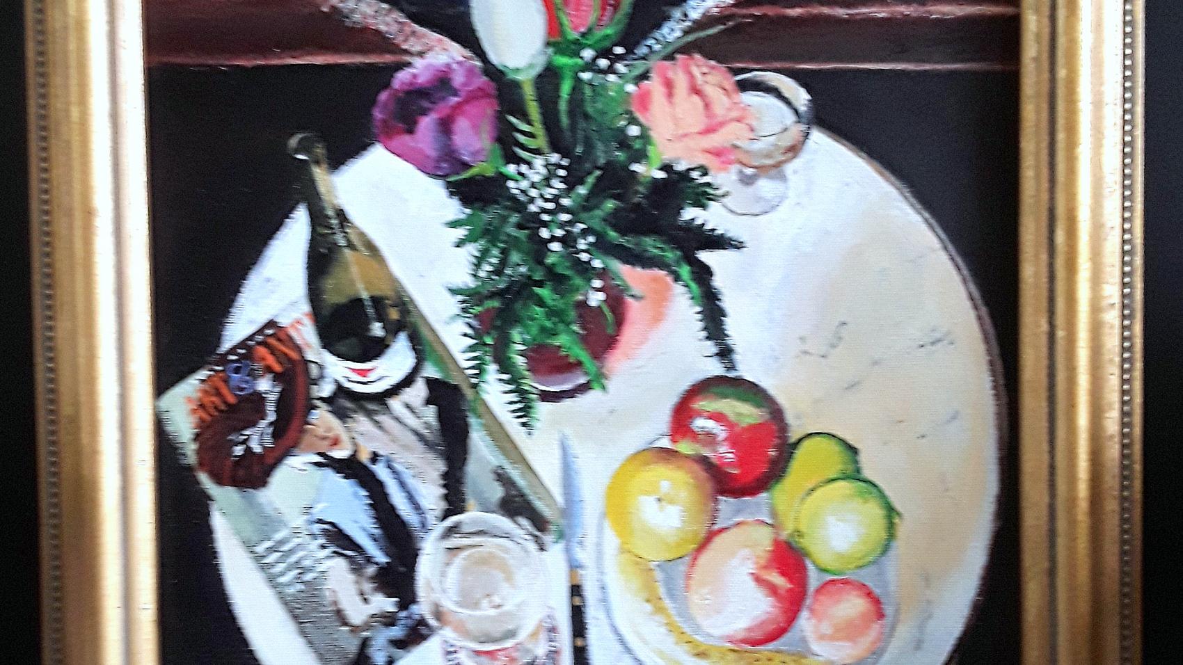Wine Roses Chagall JKarr 2000