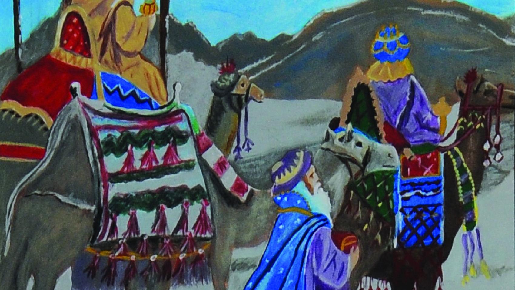 """Christmas (amateur): Jane Parish, """"Journey to Bethlehem"""""""
