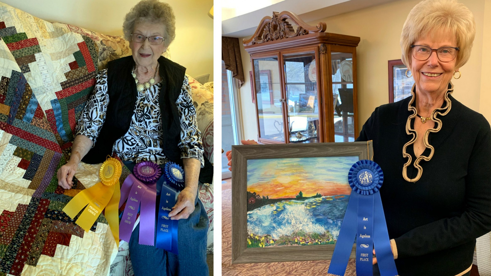 CCPM_Art is Ageless Verna Lee and Donna Long
