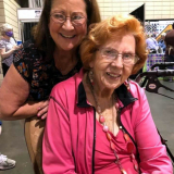 Earline Foster took up quilting before the birth of her first grandchild. Now, 100 quilts and nearly 3 decades later, she's still finding inspiration for new pieces. She and her daughter LuAnn Baker recently attended the Kansas City Regional Quilt Festival.